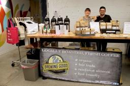 Brewing Good Coffee at Eat+Shop+vegan