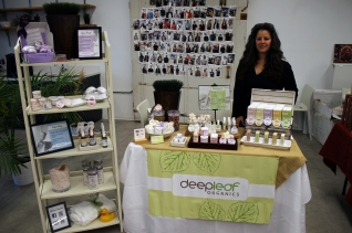 Deep Leaf Organics at the Impact Hub