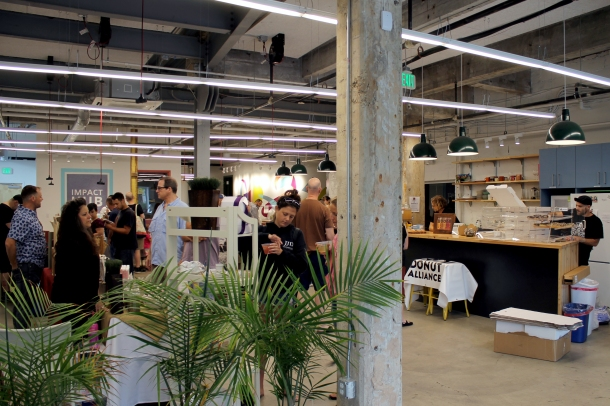 Eat Shop Vegan at the Impact Hub