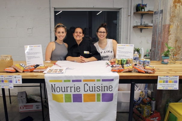 Nourrie Cuisine at Eat+Shop+vegan