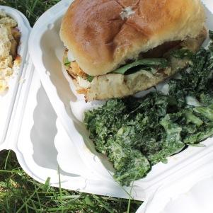 NuVegan Cafe at Baltimore Vegan Soulfest 2017