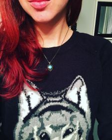 Red locks and wolf shirts